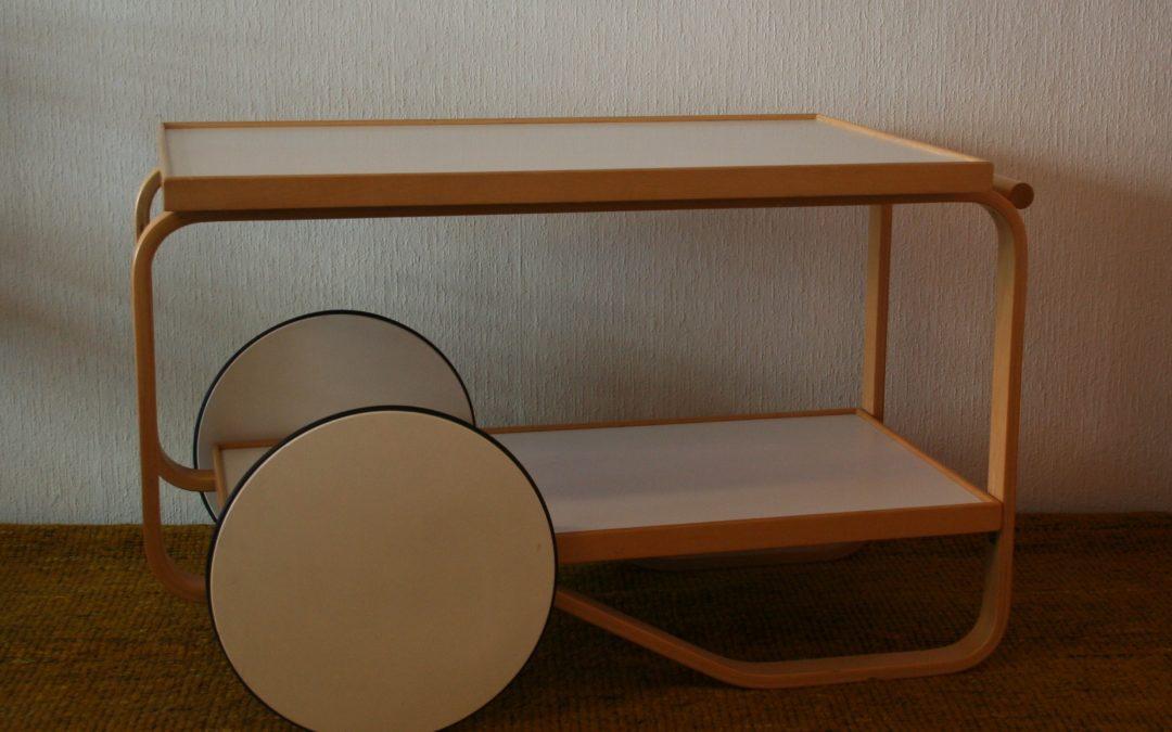Alvar Aalto Tea trolley 901