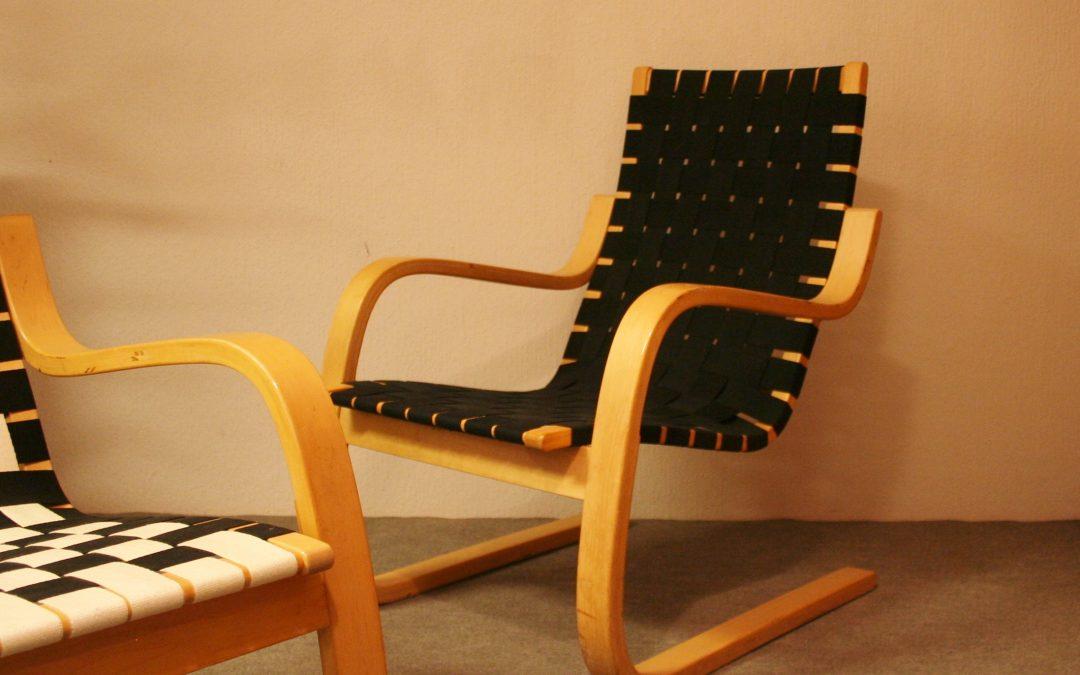 Alvar Aalto Armchair 406
